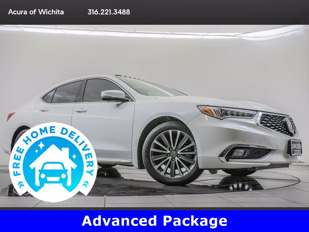 Pre-Owned 2018 Acura TLX Advanced Package