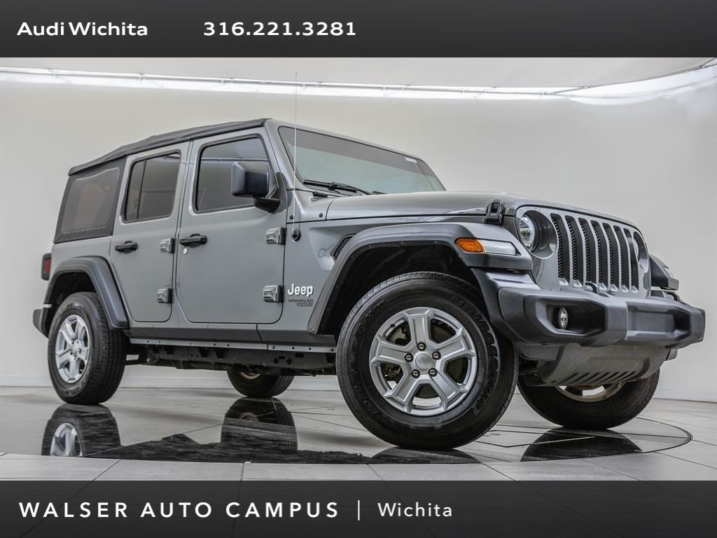 Pre-Owned 2018 Jeep Wrangler Unlimited TECH 8SPD HYBRIB