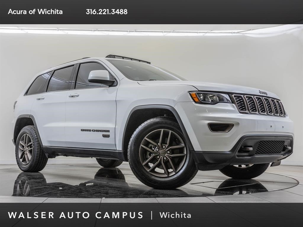 Pre-Owned 2016 Jeep Grand Cherokee Jeep 75th Anniversary, Safety and Convenience