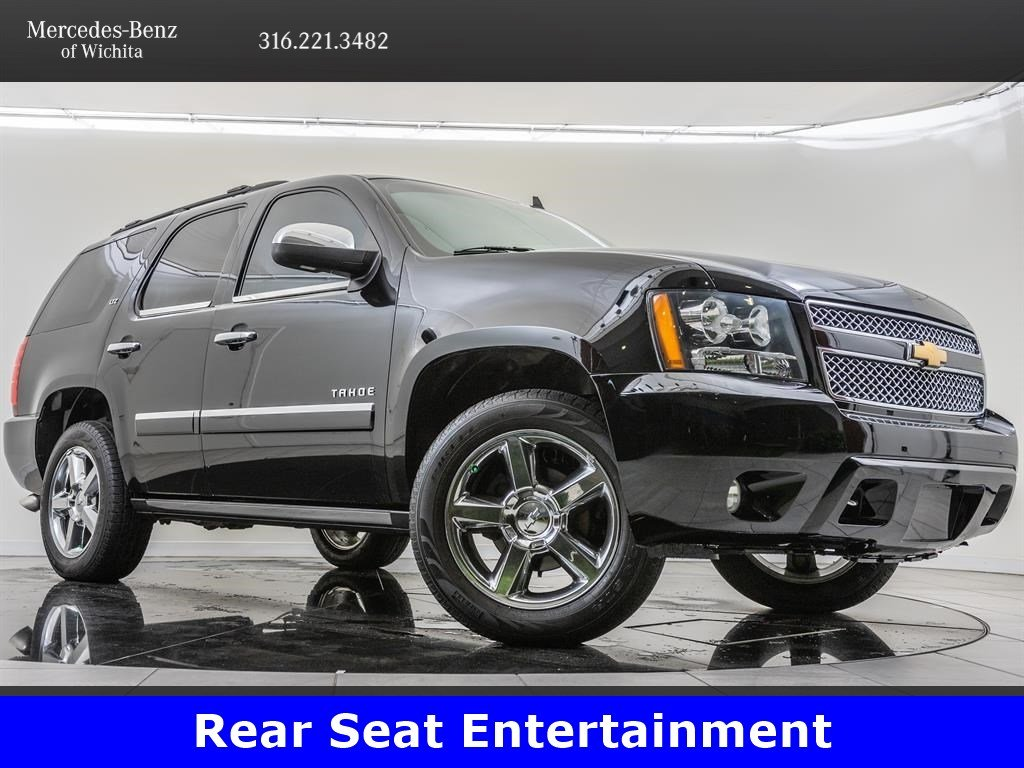 Pre-Owned 2013 Chevrolet Tahoe LTZ, Rear Seat Entertainment