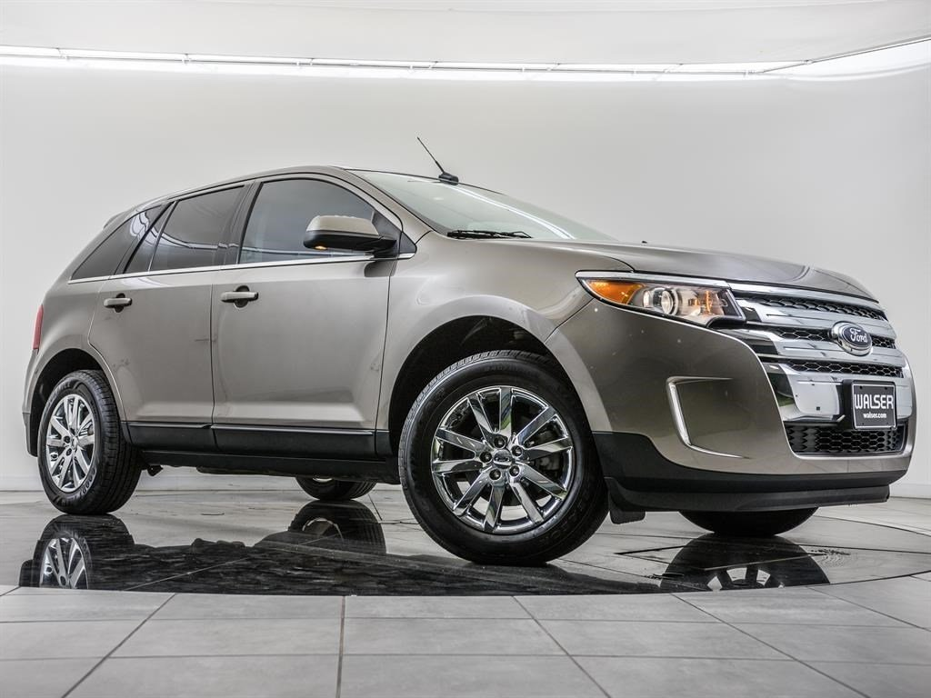 Pre Owned  Ford Edge Limited Rear View Camera Sony Audio Siriusxm