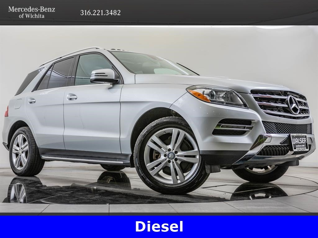 Pre-Owned 2015 Mercedes-Benz M-Class ML 250 BlueTEC 4MATIC®, Diesel, 19-Inch Wheels