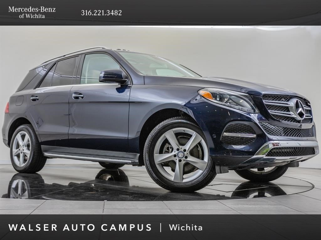 Pre-Owned 2017 Mercedes-Benz GLE GLE 350 4MATIC®, Premium 1 Package