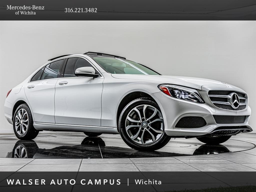 Pre-Owned 2015 Mercedes-Benz C-Class C 300 Sport 4MATIC®, Premium Pkg