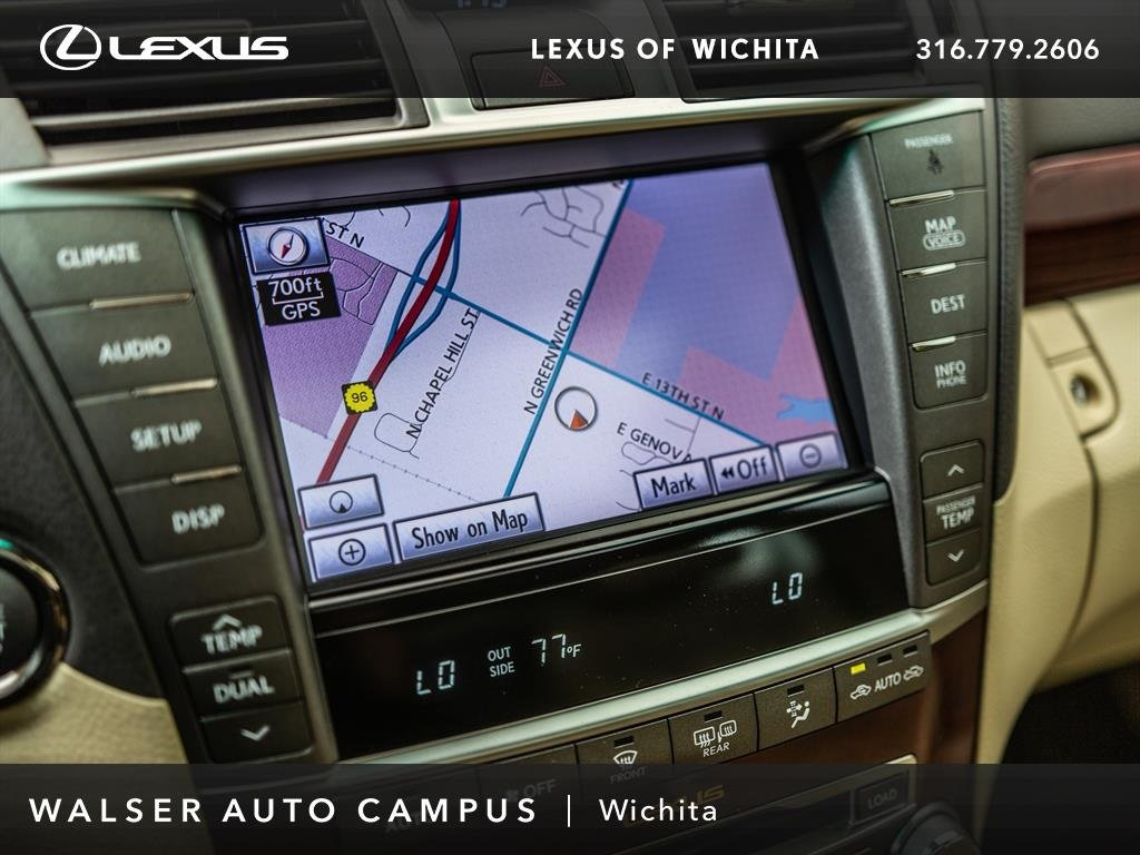 Pre-Owned 2012 Lexus LS 460 Navigation, Moonroof, Rear Sunshade, RV Camera  4dr Car in Wichita #14AJ863P | Land Rover Wichita