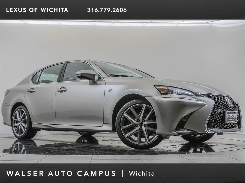 Pre-Owned 2017 Lexus GS 350 AWD, F-Sport, Navigation