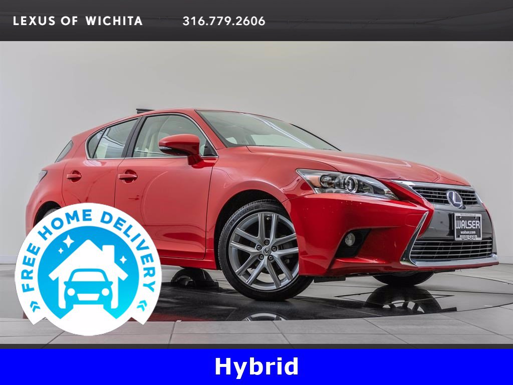 Pre-Owned 2017 Lexus CT Navigation, Premium Package