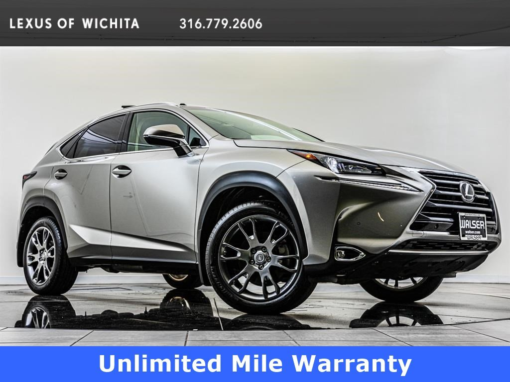 Pre-Owned 2017 Lexus NX Navigation, Factory F-Sport Wheel Upgrade