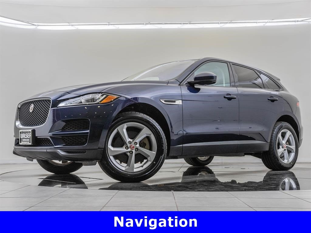 Pre-Owned 2017 Jaguar F-PACE Navigation, Cold Weather & Protection Packages
