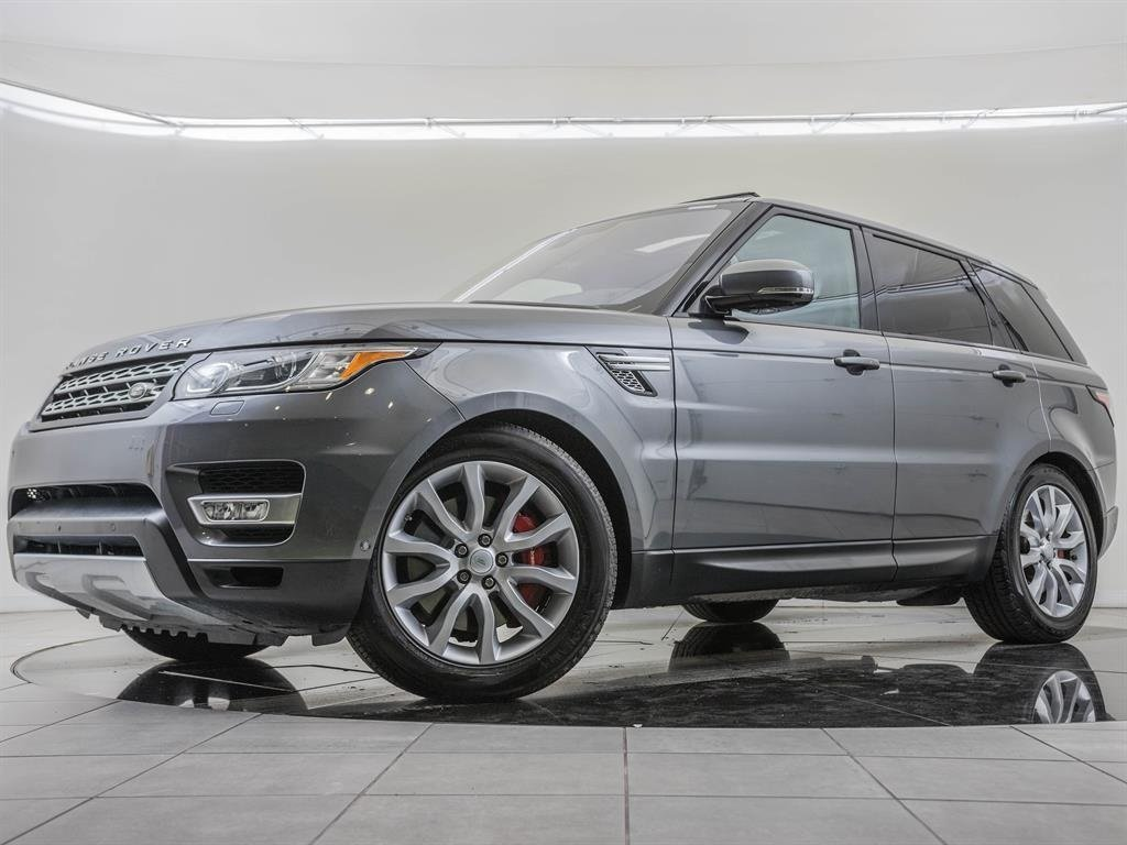 Pre-Owned 2016 Land Rover Range Rover Sport Supercharged, Driver Assistance Package
