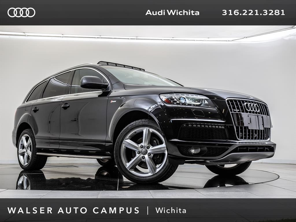 PreOwned Audi Q T S Line Quattro Rearview Camera Moonroof - Audi pre owned