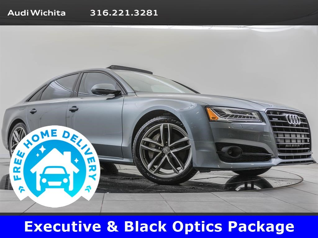 Pre-Owned 2017 Audi A8 L Executive & Black Optic Packages