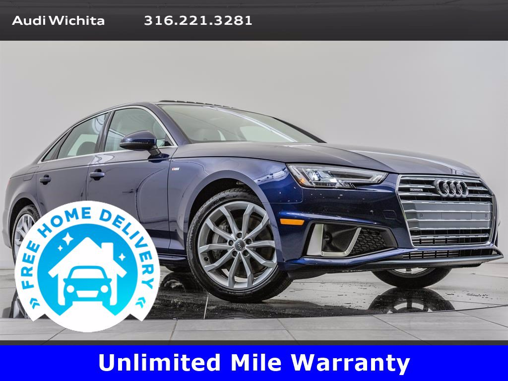 Pre-Owned 2019 Audi A4 Premium Plus Package