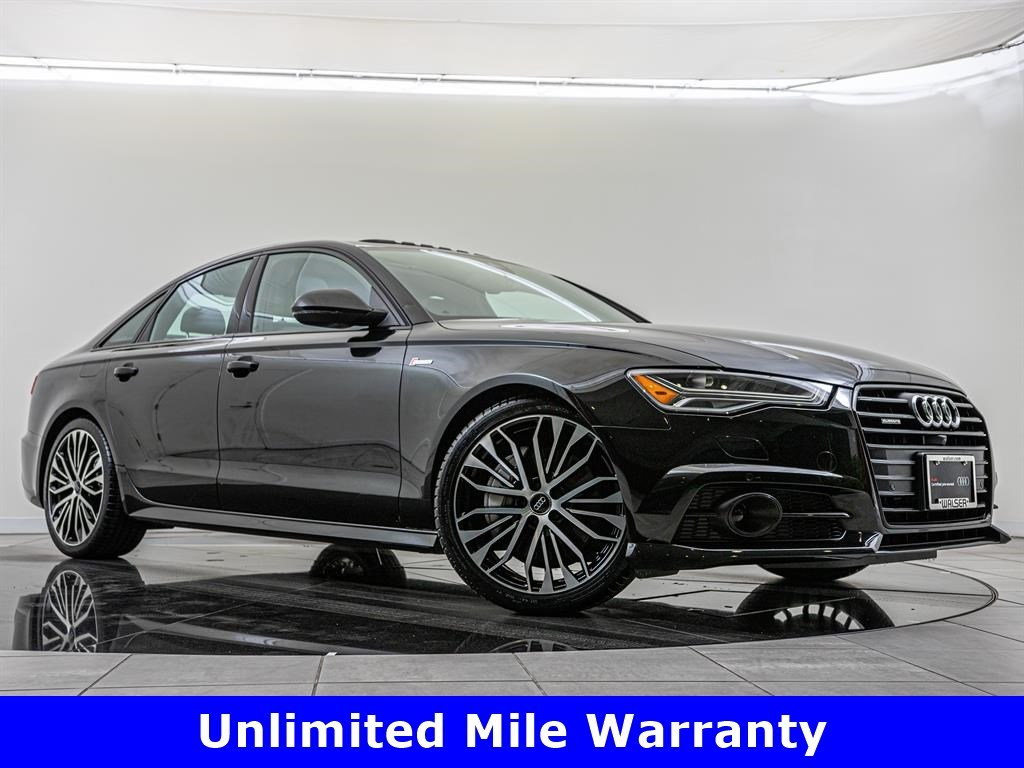 Pre-Owned 2017 Audi A6 3.0T Prestige quattro, Black Optics Package