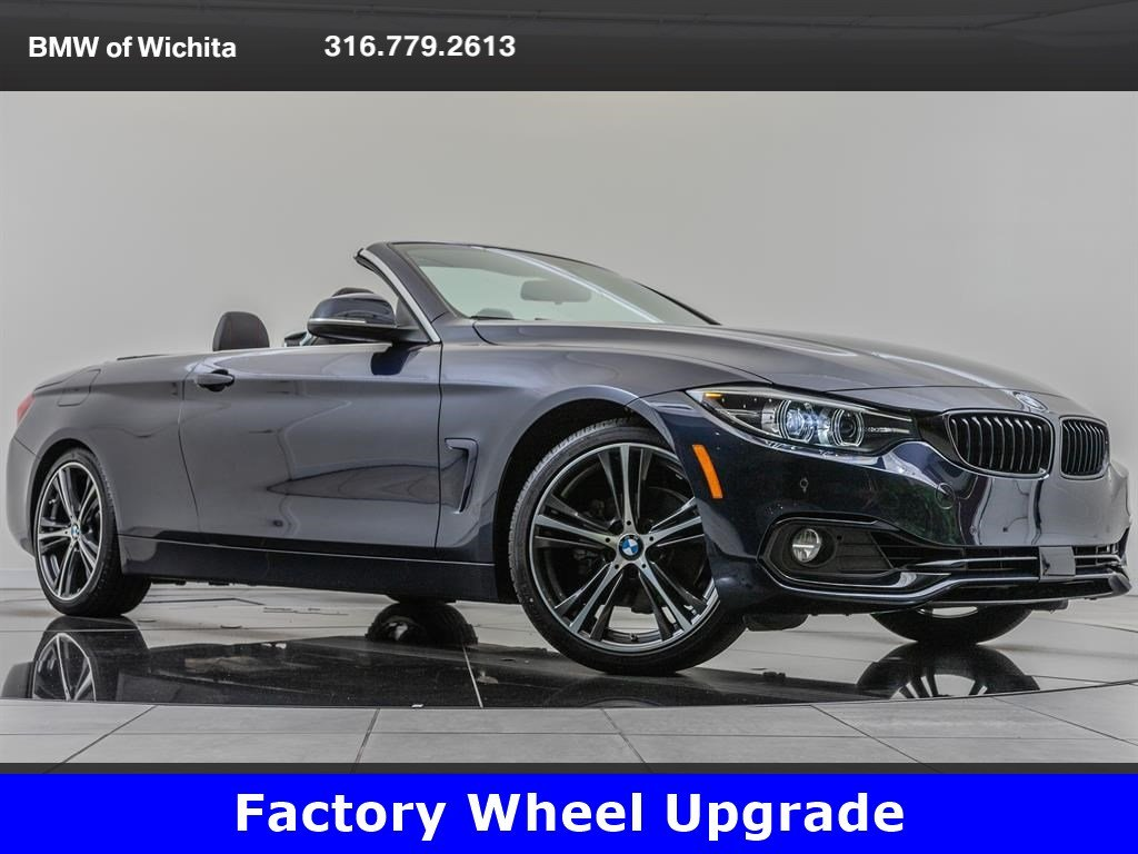 Pre-Owned 2018 BMW 4 Series 430i, Factory Wheel Upgrade