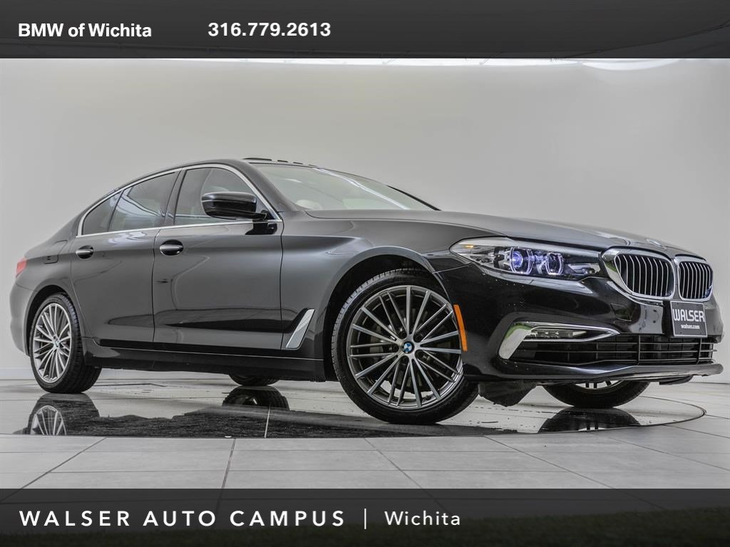 Pre-Owned 2018 BMW 5 Series Factory Wheel Upgrade, Premium Package