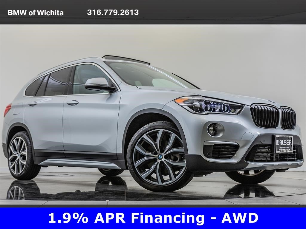 Pre-Owned 2019 BMW X1 xDrive28i, Factory Wheel Upgrade, Luxury Package