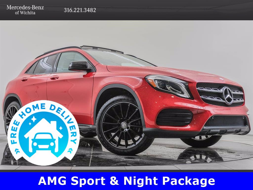 Pre-Owned 2018 Mercedes-Benz GLA GLA 250 4MATIC®, Navigation, Convenience Package