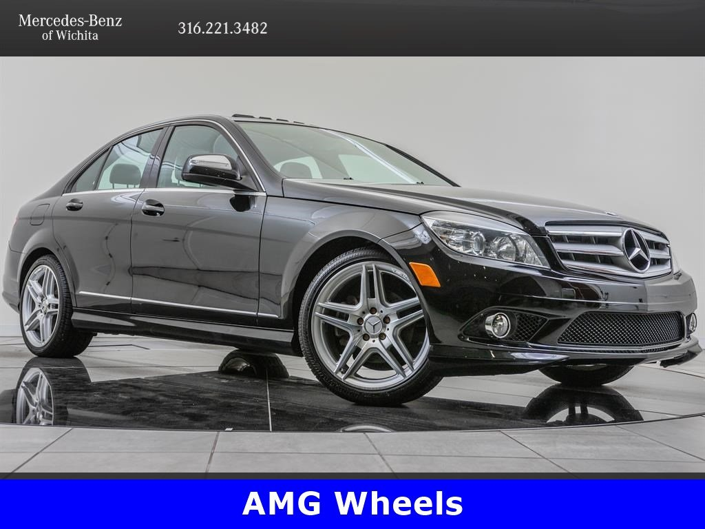 Pre-Owned 2009 Mercedes-Benz C-Class C300 Sport, AMG® Sportline, AMG® Wheels