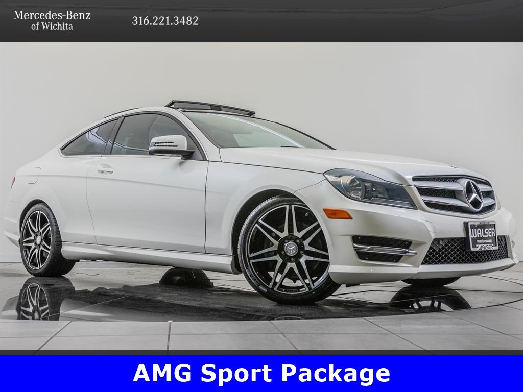 Pre-Owned 2013 Mercedes-Benz C-Class C350 4MATIC, AMG® Sport Package
