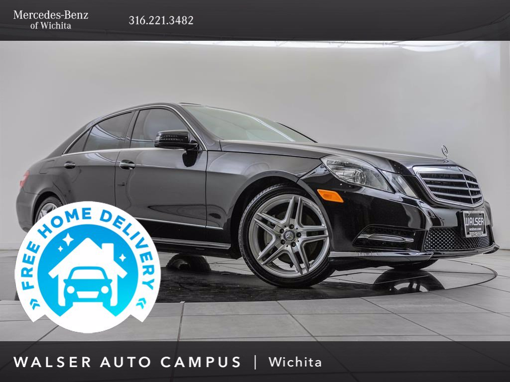 Pre-Owned 2013 Mercedes-Benz E-Class