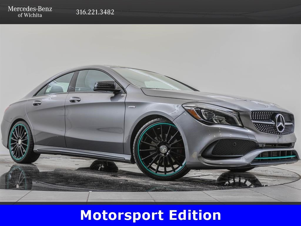 Pre-Owned 2017 Mercedes-Benz CLA 250 Motorsport Edition