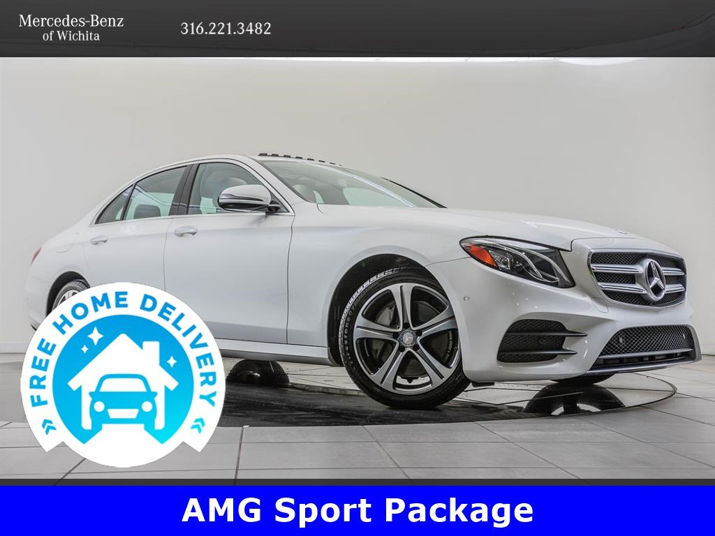 Pre-Owned 2017 Mercedes-Benz E-Class AMG® Sport, Premium 1 Package
