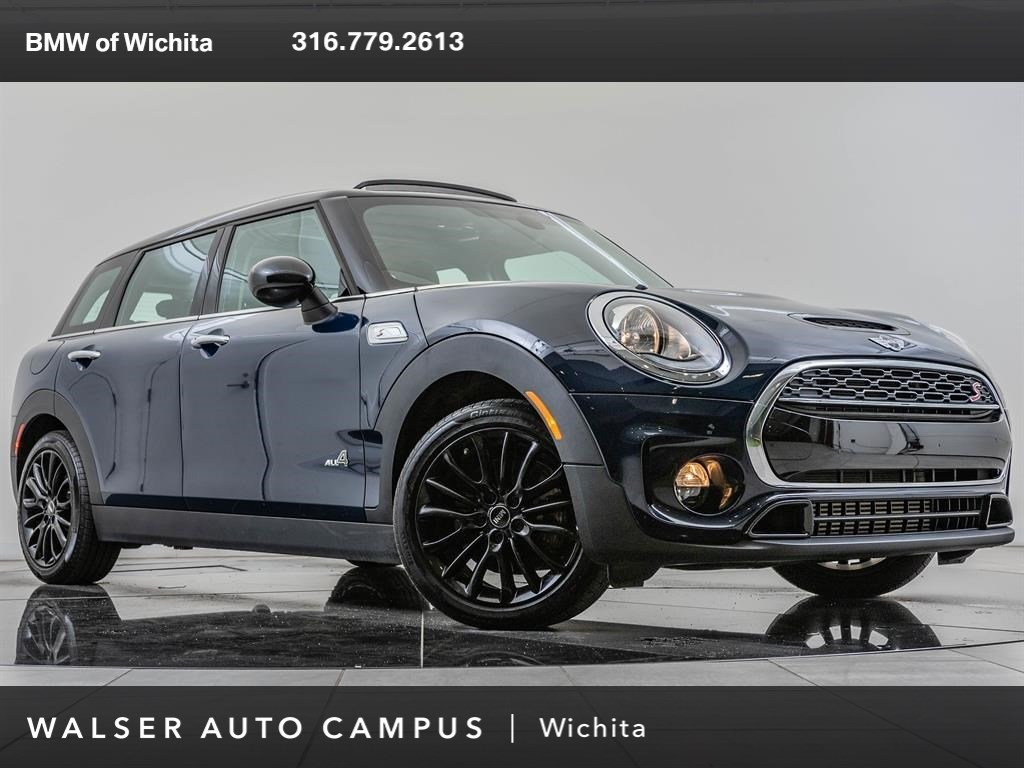 Pre Owned 2018 Mini Clubman Cooper S All4 Premium Pkg Station Wagon