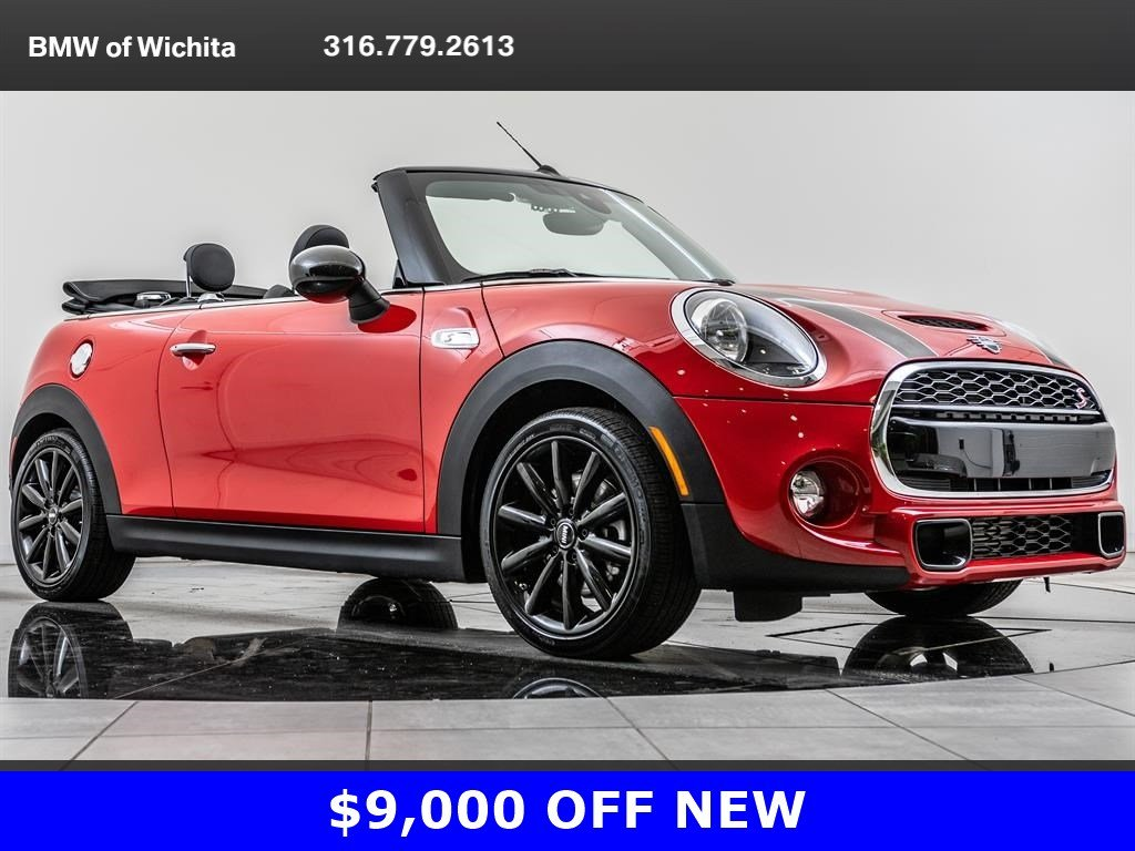 Pre-Owned 2019 MINI Convertible Cooper S, 17-Inch Cosmos Wheels