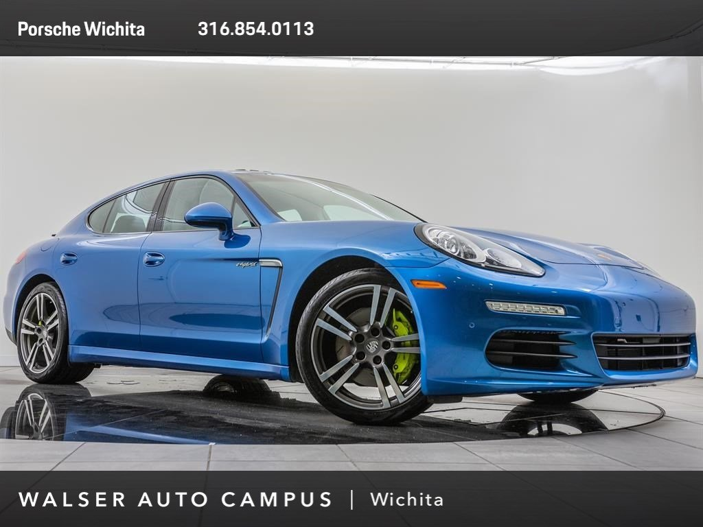 Pre-Owned 2016 Porsche Panamera S E-Hybrid, Premium Package Plus
