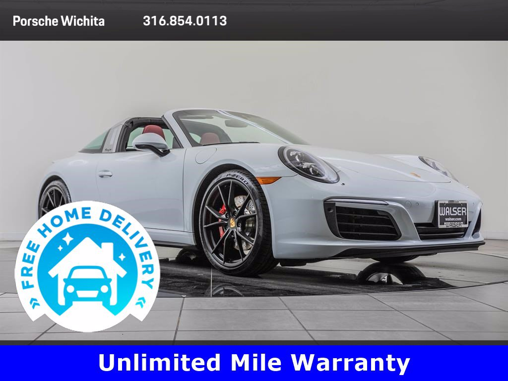Pre-Owned 2017 Porsche 911 Targa 4S Premium Package