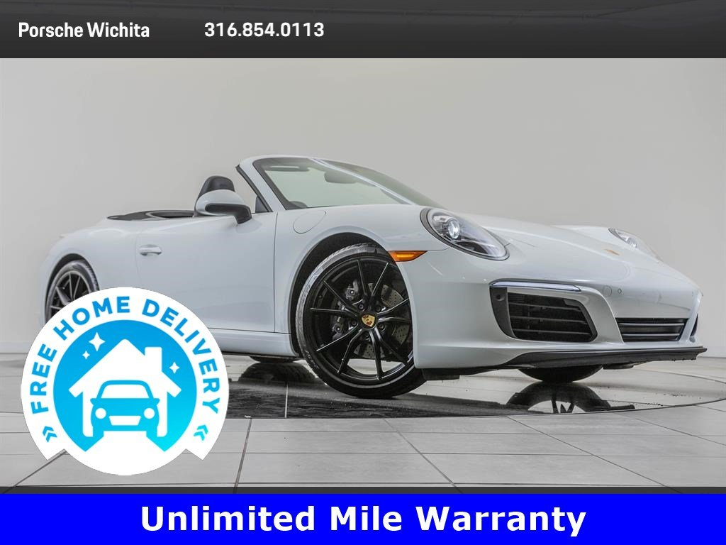Pre-Owned 2017 Porsche 911 Factory Wheel Upgrade, Sport Chrono Package