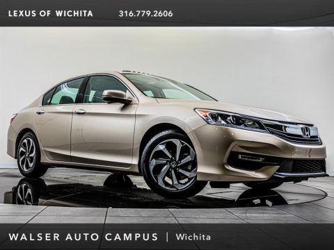 Pre-Owned 2016 Honda Accord Sedan EX-L V-6 Navigation and Honda Sensing