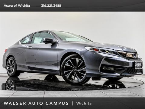 Pre-Owned 2016 Honda Accord Coupe EX-L V-6