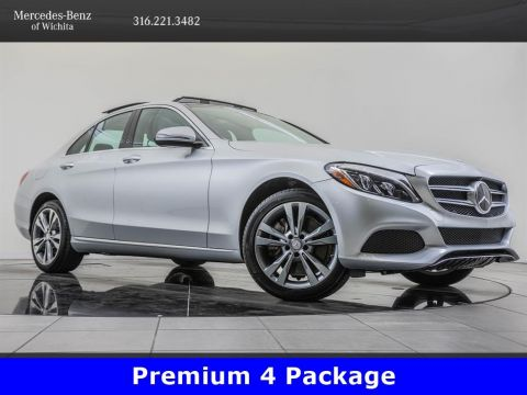 Pre-Owned 2017 MERCEDES-BENZ C300 4MATIC C 300 Sport 4MATIC®, Premium 4 Package
