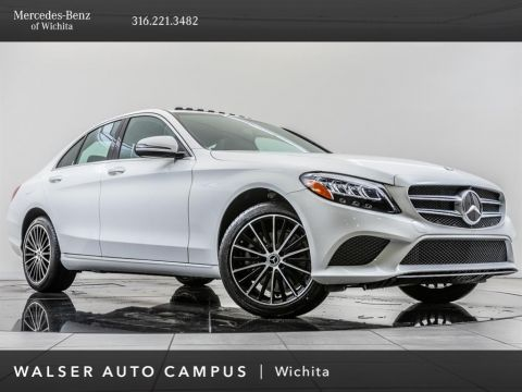 Pre-Owned 2019 Mercedes-Benz C-Class C 300 4MATIC®, Factory Wheel Upgrade