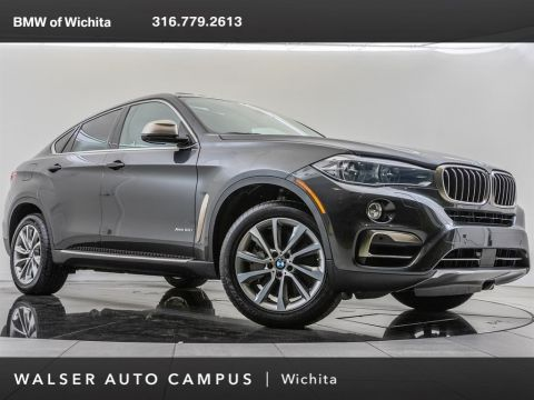 Pre-Owned 2017 BMW X6 xDrive50i, Rear-Seat Entertainment