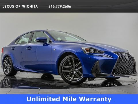 Pre-Owned 2018 Lexus IS F-Sport, Navigation