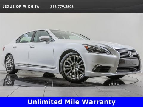 Pre-Owned 2016 Lexus LS 460 L Navigation, Factory Wheel Upgrade