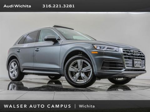 Pre-Owned 2018 Audi Q5 Factory Wheel Upgrade, Navigation, Premium Plus