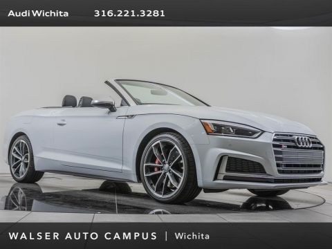 Pre-Owned 2018 Audi S5 Cabriolet Factory Wheel Upgrade, Navigation, S-Sport Package