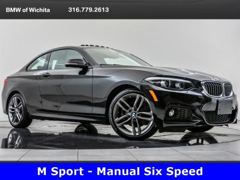 Pre-Owned 2018 BMW 2 Series 230i M Sport, Manual