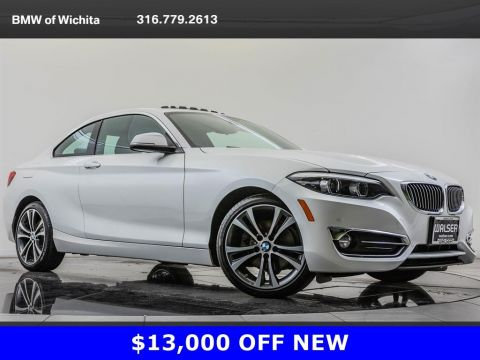 Pre-Owned 2019 BMW 2 Series 230i xDrive, Upgraded 18-Inch Wheels