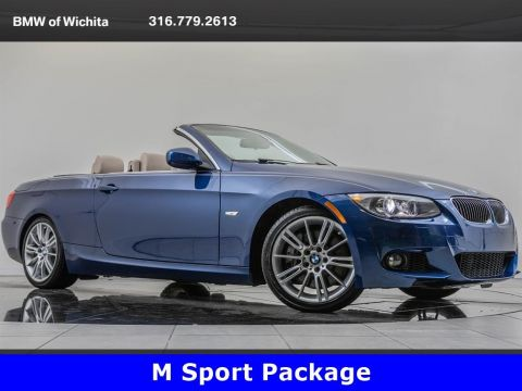 Pre-Owned 2012 BMW 3 Series 335i, M Sport Package, Premium Package