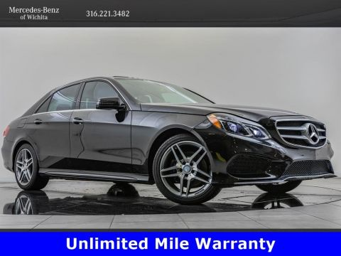 Pre-Owned 2016 Mercedes-Benz E-Class E 400 4MATIC, AMG® SportLine