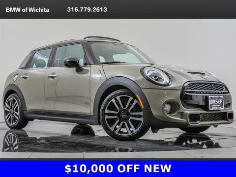 Pre-Owned 2019 MINI Hardtop 4 Door Cooper S, Manual