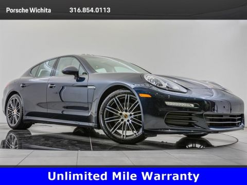 Pre-Owned 2016 Porsche Panamera Edition, Upgraded 911 Wheels, Premium Package Plus