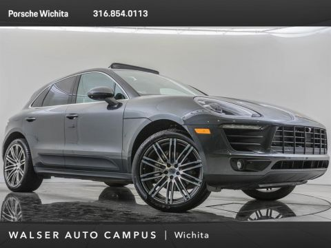 Pre-Owned 2018 Porsche Macan Factory Wheel Upgrade, Navigation, Premium Plus